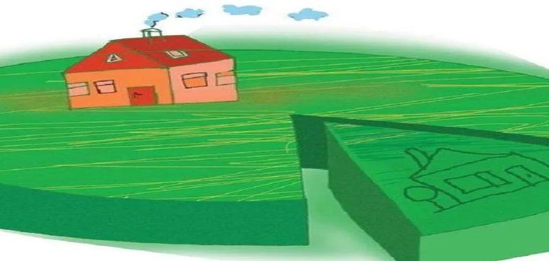 Раздел земельного участка.