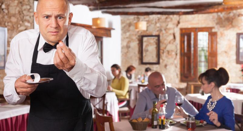 В каких случаях можно уйти из ресторана, не оплатив счет ?!